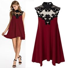 vestido de festa vinho gola de tulle bordado sem manga casamento coquetel