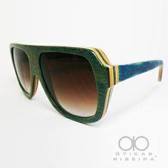 7db19542baf7a Evoke Wood Series! Oculos De Sol ...