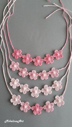 # Crochet # Crochet #Necklace # Accessories #Posaune # Pale necklace,  #Accessories #crochet #ganchillocrochet #Necklace #Pale #Posaune