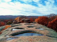 Elephant Rocks State Park in MISSOURI is awesome!!! You'll love all the standing boulders whilst camping or RVing this beautiful state. Check out the best Campgrounds & RV Parks in the area too!