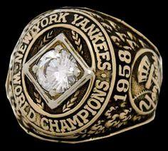 1958 World Series Ring
