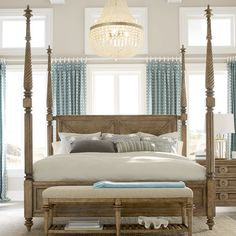 Found it at Wayfair - Pavilion Four Poster Bed
