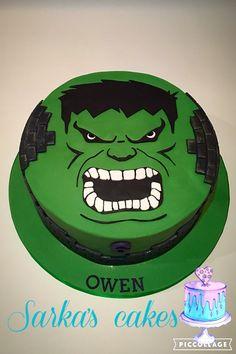 Hulk cake #hulkcake #sarkascakes #cake#birthday #celebration #boyscake #6thbirthday