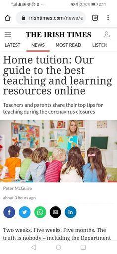 - facebook.com/rlwonderland Irish Times, Behind The Scenes, Good Things, Teaching, Facebook, Tips, Education, Onderwijs, Learning