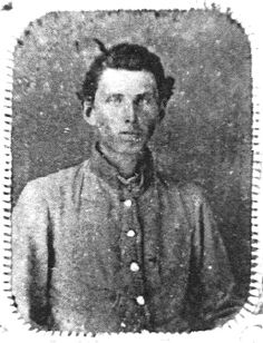 Cpl. Alex H. Lankford, 5th Tennessee Infantry. Slightly wounded at the battle of Murfreesboro and Captured at the Battle of Nashville on December 16, 1864.