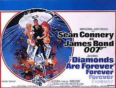 Diamonds Are Forever (1971) is the seventh spy film in the James Bond series by Eon Productions, and the sixth and final Eon film to star Sean Connery....