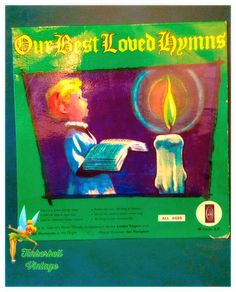 """Our Best Loved Hymns St Gabriels Church 45rpm 7"""" Vinyl Record. Very Good Condition. Vintage Collectible. by TinkerbellVintage on Etsy"""