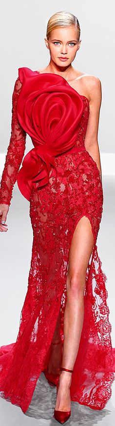Ralph  Russo SS 2014 Couture ❤ ♥ I bet you wish you could wear a dress like this - Enjoy with love from http://www.shop.embiotechsolutions.co.uk/AquaFresh-EM-Ceramics-Water-Butt-Treatment-250g-AquaFresh250.htm