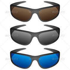 Sport sunglasses #GraphicRiver Sport sunglasses on a white background. Vector illustration. Created: 15June12 GraphicsFilesIncluded: JPGImage #VectorEPS Layered: No MinimumAdobeCSVersion: CS Tags: accessory #black #blue #brown #dark #eyeglasses #eyeware #fashion #frame #glasses #grey #illustration #isolated #modern #object #plastic #protect #protection #reflect #set #sport #style #summer #sunglasses #sunny #vector #white