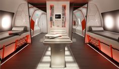 A jet fit for a (Sacramento) King: Nike's sports plane of the future designed by Teague of Seattle.