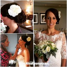 season in started with a beautiful Megan. with the flower natural at Dc Weddings, Hair Piece, Airbrush, Wedding Season, Beautiful Bride, Hair Makeup, Seasons, Wedding Dresses, Hair Styles