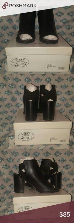 Bnib Steve Madden Mindy Peep Toe Shoes Bnib Steve Madden Mindy Peep Toe Shoes Will Ship