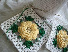 Thread Crochet Potholder Project by Acadian Crochet, via Flickr