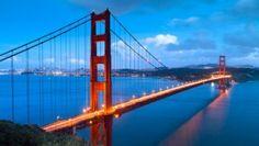 Rundreise USA Westküste Die Golden Gate Bridge ist das Wahrzeichen San Franciscos