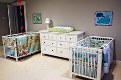 baby twin bedroom ideas   Bedrooms Decorating Ideas For Baby Boy: Bedroom Decoration For Twins