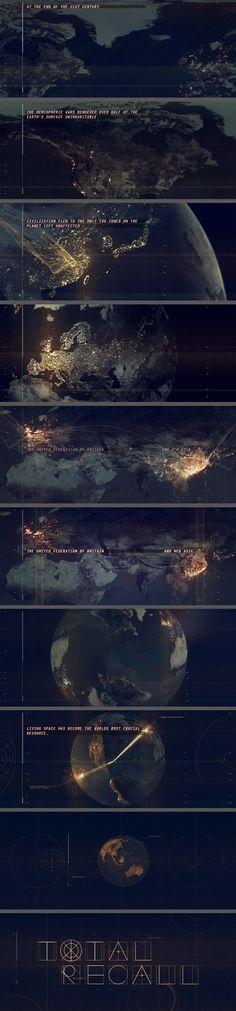 Total Recall Prologue Title Sequence Ji Yun Ha