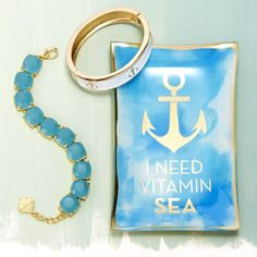 Nautical bracelets will look great with your summer dresses and are the perfect finish to a retro outfit needing retro accessories.
