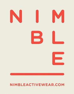 Nimble by Christopher Doyle & Co.
