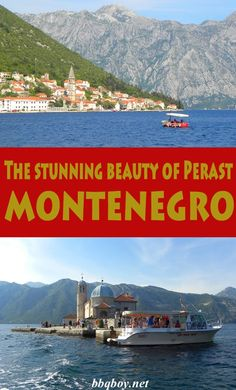 The stunning beauty of Kotor Bay in Perast