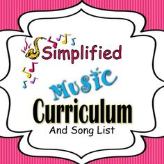 ALL-YEAR Lesson Plan Template Bundle - Arkansas Elementary Music ...