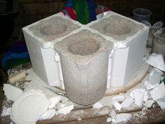 styrofoam concrete molds