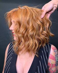 Passion Hair, Strawberry Blonde, Long Hair Styles, Beauty, Instagram, Short Hair, Redhead Girl, Colorful Hair, Hair Ideas