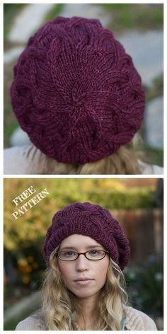 Knit Star Crossed Slouchy Beret Hat Free Knitting Pattern hats for women patterns Classy Crochet Beanies Free Patterns Knit Slouchy Hat Pattern, Crochet Beret Pattern, Beanie Knitting Patterns Free, Bonnet Crochet, Knit Or Crochet, Slouchy Beanie Hats, Chapeaux Bonnet Slouchy, Motifs Beanie, Knit Hat For Men