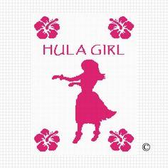 Embroidery on Pinterest Hula Girls, Maori and Counted ...