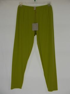 Chalet - Bamboo Lime Solid Long Legging