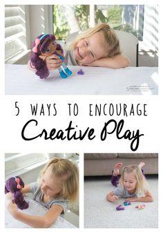 5 Ways to Encourage Creative Play