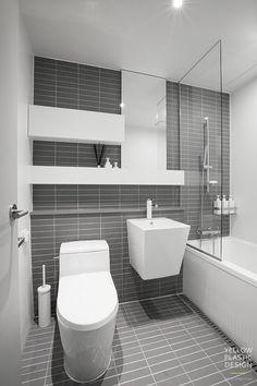 Modern Contemporary Bathrooms, Modern Bathroom Design, Bathroom Interior Design, Bath Design, Kitchen Interior, Zen Bathroom, Bathroom Goals, Bathroom Renos, Small Bathroom