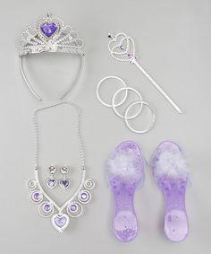 Look what I found on #zulily! Lilac Crown Set #zulilyfinds
