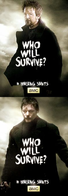Sean Patrick Flanery ~ Norman Reedus ~ The Walking Saints ~ Connor and Murphy MacManus