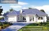 Willa parkowa 5 One Storey House, Concrete Bench, Mediterranean House Plans, Villa Park, Hip Roof, Solar Installation, Arched Windows, Underfloor Heating, Entrance Doors