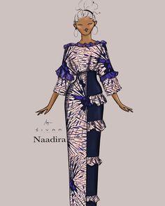 Female Fashion, Fashion Art, Womens Fashion, Ankara Fashion, African Fashion, Friday Outfit, Kaftans, Party Guests, Ankara Styles