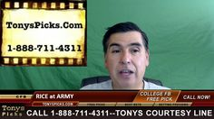 Rice Owls vs. Army Black Knights Pick Prediction NCAA College Football O...