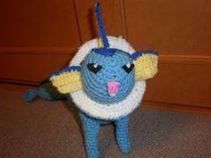 2000 Free Amigurumi Patterns: Free Crochet Pattern for Vaporeon Pokémon