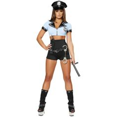 Police Woman Sexy Adult Costume
