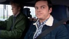 Andrew Scott. when you see your friend in the car next to you. Hahahaha!!