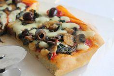 La Tavola Allegra: Pizza Ortolana (Alta e Soffice)