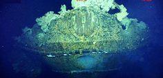 ポール・アレン氏が短文投稿サイト「ツイッター」に掲載した、戦艦武蔵としている船首部分 ▼6Mar2015共同通信|比国立博物館、戦艦武蔵検証へ 真偽や船体保全で声明 http://www.47news.jp/CN/201503/CN2015030601002204.html