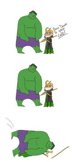 Marvel meme times - thud.