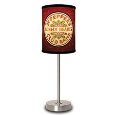 The Beatles Sgt. Peppers Lamp now featured on Fab.
