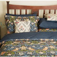 William Morris Bedding | Strawberry Thief Duvet Cover Sets at Bedeck 1951