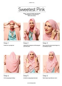 SWEETEST PINK (Scarf Magazine Vol 02) - Get the magazine on digital version here http://www.getscoop.com/magazines/scarf-indonesia-ed-02-2013 #ScarfMagazine #Volume02 #HijabTutorial