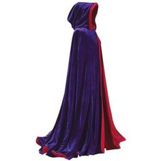 Purple and Red Reversible... Evil queen cloak just because...