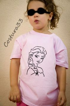 Costura33: Camiseta Frozen