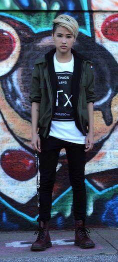 Marvelous genderfluid fashion outfits ideas 59