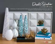 DwellStudio by Global View -love these glasses
