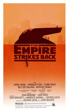 Alternative Movie Poster:  The Empire Strikes Back by 3ftDeep